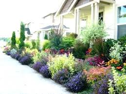 Small Front Garden Design Ideas Front Yard Flower Garden Creating A Flowerbed Low Things In Front