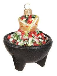 mexican food ornaments