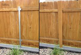 got ugly metal fence posts diy garden project cure metal fence