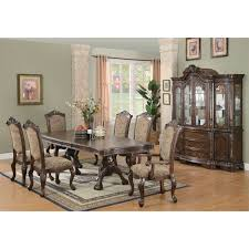 Coaster Dining Room Table Coaster Furniture 103111 Andrea Dining Table In Brown Cherry