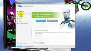 bagas31 eset smart security 9 eset nod32 antivirus 9 0 349 0 youtube