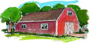 Barn Building Plans Barn Garage U0026 Shop Building Plans
