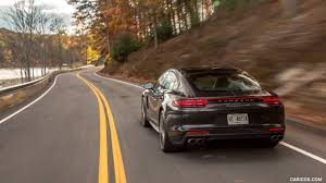 porsche panamera brown 2017 porsche panamera turbo color volcano grey us spec rear