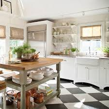 black and white kitchen floor ideas the appeal of checkerboard floors