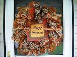 157 best fall mesh wreaths images on fall mesh wreaths