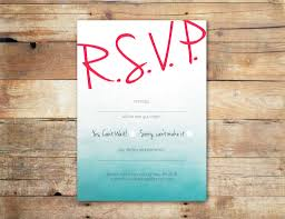 wedding invitations with response cards blue ombree rsvp card online wedding invitations ireland
