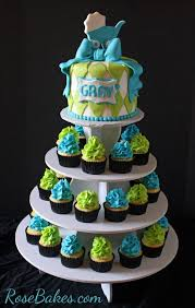 baby boy shower cakes and cupcakes party xyz