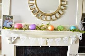 Easter Room Decorations by Easter And Spring Decor The Joyful Home