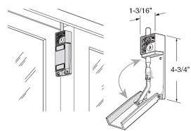 Patio Door Bolt Lock Pet Door Security Keyed Bolt Lock