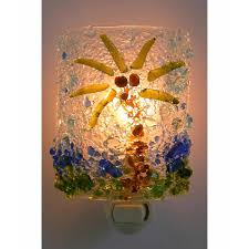 Recycled Glass Light Fixtures by Recycled Glass Night Lights Palm Tree Oak Tree Winter Tree