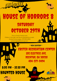 house of horrors 8 u2013 haunted house be active decatur
