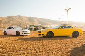 5 0 mustang vs camaro ss uh oh ford the 2015 chevycamaro ss is quicker than your 2015 ford