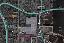 Miami Dade Wolfson Campus Map by In The Heart Of It All U2013 Miami Worldcenter