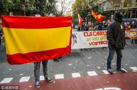 Barcelona Spain Flag Spain Turns To Court To Block Puigdemont U0027s Catalan Comeback Bid Cgtn