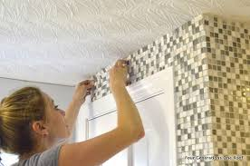 How To Install A Mosaic Tile Backsplash In The Kitchen How To Install Mosaic Tile Tutorial Four Generations One Roof