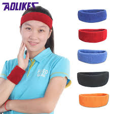 sweat bands high quality cotton towel cloth sports sweatband hair bands