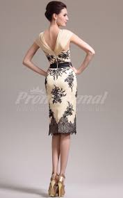 pearl pink lace chiffon sheath sweetheart neck knee length
