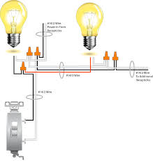 wiring diagram one switch two lights wiring diagram simonand