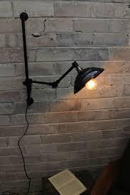 swivel arm wall light bakelite swing arm wall l with wall plug vintage charm fat