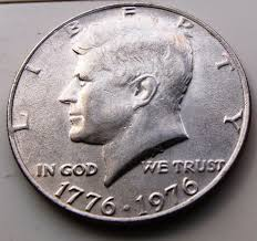 1776 to 1976 quarter dollar coined for money