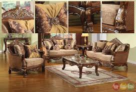 Wooden Carving Furniture Sofa Classic Living Room Furniture Layout Antique Living Room Furniture
