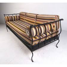 modern wrought iron daybed chairish