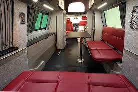 volkswagen van interior ideas vw doubleback camper rock feed