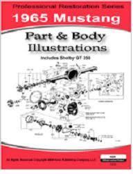 1965 mustang parts 1965 mustang parts illustrations