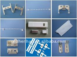 Window Blind Parts Suppliers 3 Prong Hook Carrier For Vertical Blind Accessories Curtain