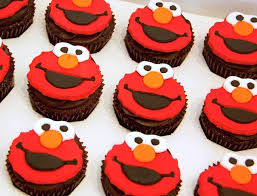 elmo cupcakes best custom design cupcakes in singapore honeykids asia