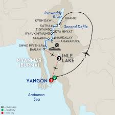 Mekong River Map Avalon Waterways River Cruises Myanmar Golden Myanmar U0026 The