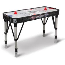 outdoor air hockey table 54 nhl adjust and store hover air hockey table 9223402540108 ebay