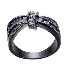 compare prices on amethyst engagement jewelry rings solid 14k white gold natural diamonds purple font