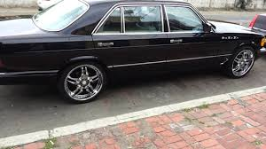mercedes 420sel 91 mercedes 420 sel pimped out
