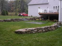 Landscape Ideas For Sloping Backyard Landscape Design In Ma U2014 Natural Path Landscaping