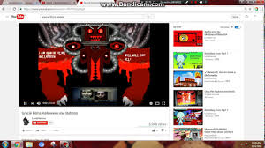 halloween buttons demonic omega flowey laugh youtube