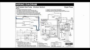 trane heat pump wiring diagram mini split heat pump wiring diagram