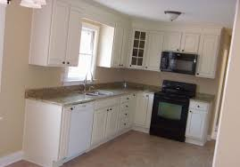 captivating l shaped kitchen ideas with granite countertop and