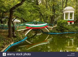 Decorative Pond A Small Decorative Pond In Sea Garden Park In Varna Bulgaria