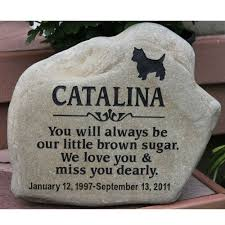 dog memorial custom pet garden memorial personalized km rr pet 114 95