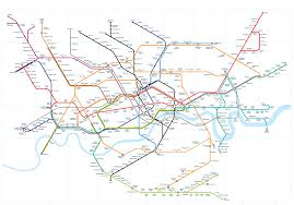 map of the underground in the map updated for 21st century technology bright of