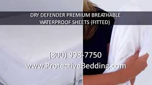 dry defender premium breathable waterproof sheets fitted youtube
