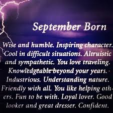 birthday quotes for the month of september mr