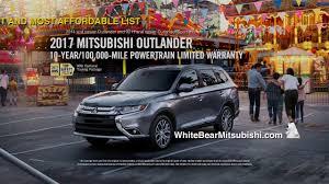 mitsubishi outlander sport 2014 white white bear mitsubishi september outlander commercial youtube