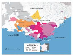 Map Of Provence Provence Wine Region Map France Wine Posters Wine Folly