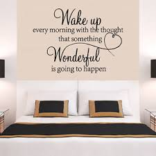 Bedroom Wall Quotes | big heart family wonderful bedroom quote wall stickers room