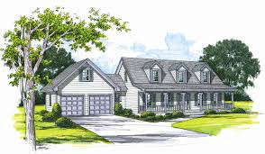 cape cod house plans with detached garage home deco plans
