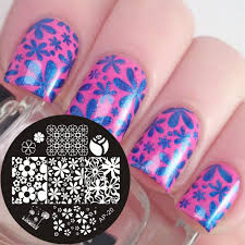 aliexpress com buy pandox ap20 mixed flower nail art stamp