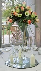 Martini Glass Centerpieces Martini Glass Centerpiece Bouquet In Glass U0026 Vase Pinterest