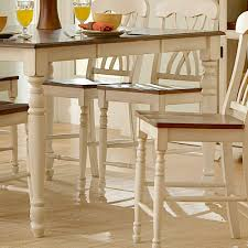 white counter height dining set ikea round bar table modern high